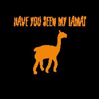Hast du mein Lama gesehen?