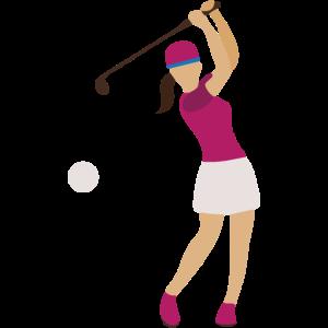Golferin Shirt · Sportlerin · Golf Geschenk