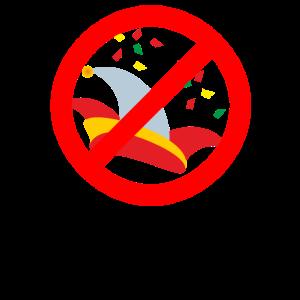 Fasching Nein Danke Shirt - Antifasching