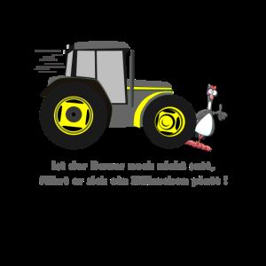 Ist der Bauer noch nicht satt