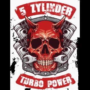 5 Zylinder Turbo Power