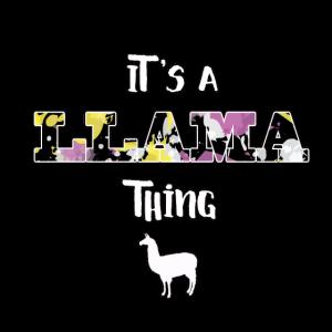 Lama-Liebhaber - es ist eine Lama-Sache! Geschenk