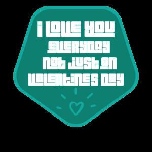 Valentinstag Liebeserklärung Liebespaar