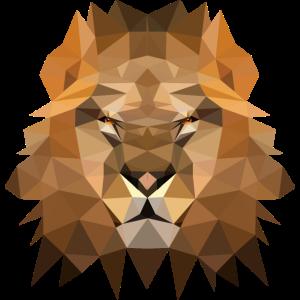 Polygon Loewe Lion