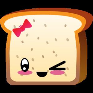 Kawaii Toast