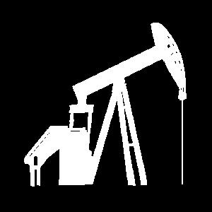 Eine große Maschine die nach Öl sucht
