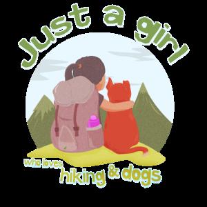 Wandern Hund Berge Mädchen Frau Camping Geschenk