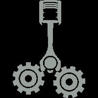 Mechanische Getriebe Kolben 1