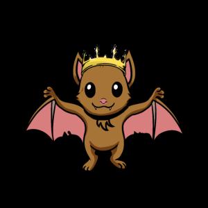 Königin der Nacht Fledermaus Baby Fantasy Comic