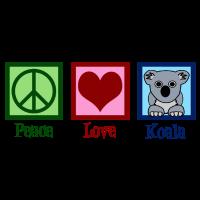 Friedensliebe Koala