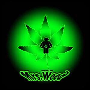 Mrs. Weed green grün