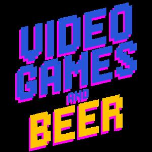 Computerspiele und Bier