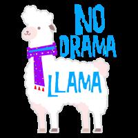 No Drama Comic Lama