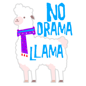 No Drama Comic Lama