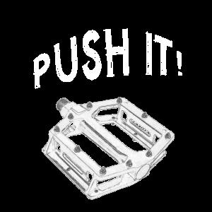 Pusher! Mountainbike Flatpedal Pedal | BMX