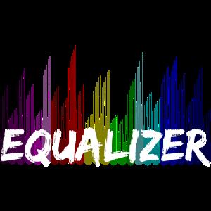 Design einer Equalizer Musik-Frequenz