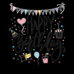 Happy Birthday Geburtstagsgrüße 10 Geburtstagskind