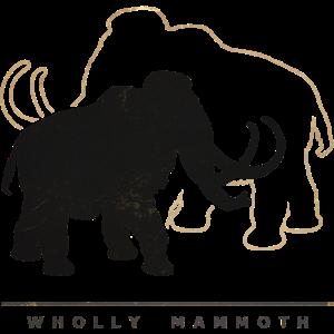 wolliges Mammut (in die Jahre gekommen)