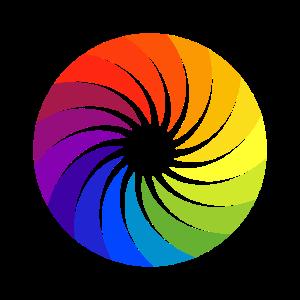 Farbpalette Künstler Farbkreis