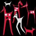 animaux stylisés