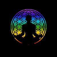 I'm mostly peace, love and light chakra