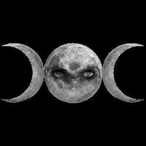 Dreifaltige Göttin Wicca Symbol