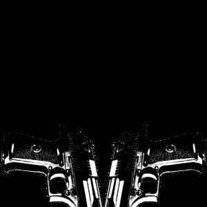 Pistolen im Schritt