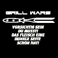 Grill Wars BBQ Geschenkidee Yoda, Chewbacca, R2-D2