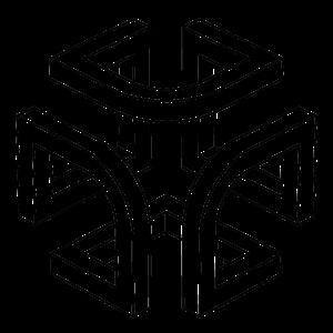 JOSZ DESIGN geometric black