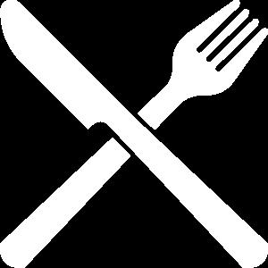 Messer und Gabel Besteck Restaurant Kochen