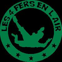Logo 4 Eisen in der Luft Begriff