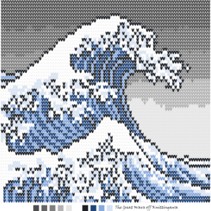 The Great Wave Off Knittingawa