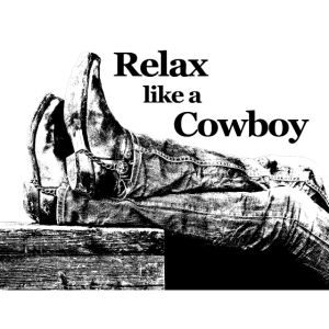 Cowboy Boots Relax