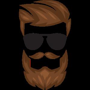 Coole Sonnenbrille Barber Shop Friseur Geschenk
