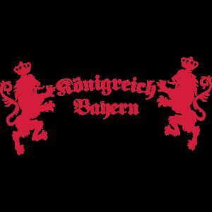 Königreich Bayern Loewen Koenigreich München 1c
