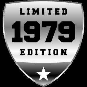 1979 Schild Chrom Silber