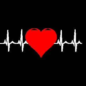 Herzschlag Herz Geschenk Geschenkidee