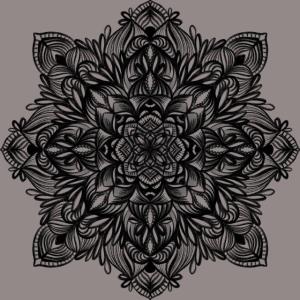 Naturbelassenes Mandala