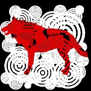 Wolf stylisch