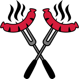 Grill Sausages Logo