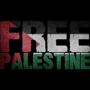 Free Palestine Flagge Geschenkidee Palästina