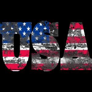 USA NY I Love T Shirt Geschenk America