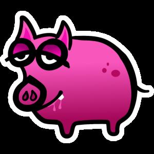 Schweinchen muede