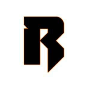 r logo orange