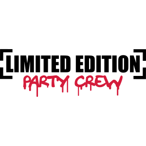 Limited Edition Party Crew Design