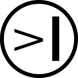 Textadventur.es| Logo Circle - grau