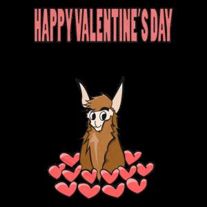 Valentinstag Lama