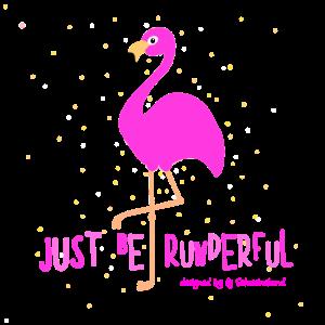 just be runderful Flamingo