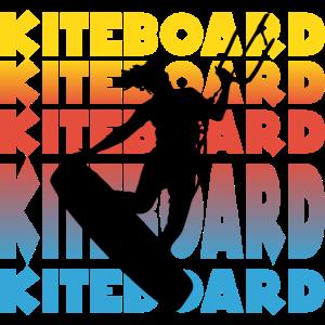Wassersport Kiteboard Maedel Kitesurfen Girl Motiv