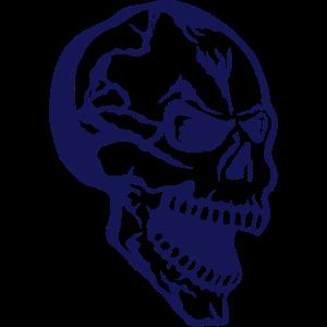 Kopf des Todes Halloween-Profil 1785099